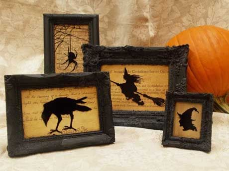 clothing sale online uk How to Create Spooky Silhouettes Just in Time for Halloween  The Plaid Palette blog post by Chris Williams guest designer Andy Jones