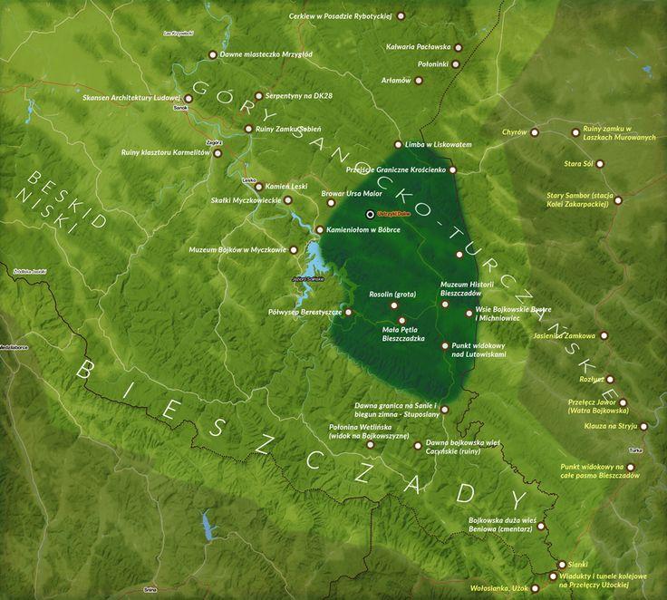 Zaskoczymy Was! Oto ziemie, które Polska otrzymała dopiero 6 lat po wojnie. Bojkowszczyzna i Góry Sanocko-Turczańskie. Opisaliśmy je dla Was.