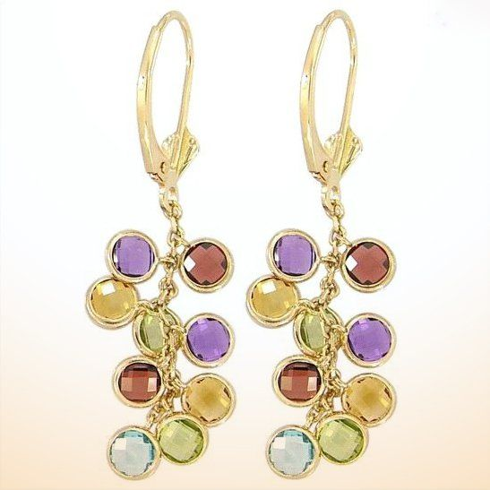These 25+ Multicolor Jewels Will Live Up Your Outfit And Uplift Your Mood As Well  - Jewelry Set is one of the biggest wish of every women. Due to increasing prices of gold, it is going to be more complicated to afford the Gold Jewelle... -  Gemstones-Multicolor-Gemstones-Jewelry-3 .