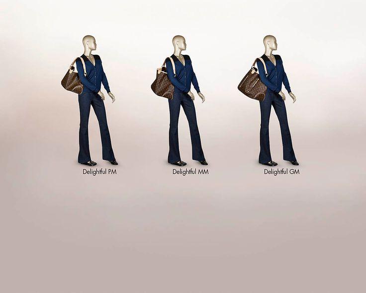 AUTHENTIC Pre-owned Louis Vuitton Delightful PM Shoulder ...