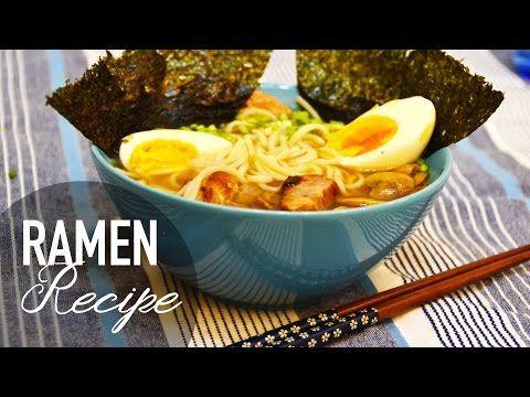 RAMEN | Video - ricetta + Buone feste!! - YouTube