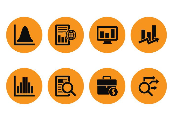 Market Analys Icons Free Download