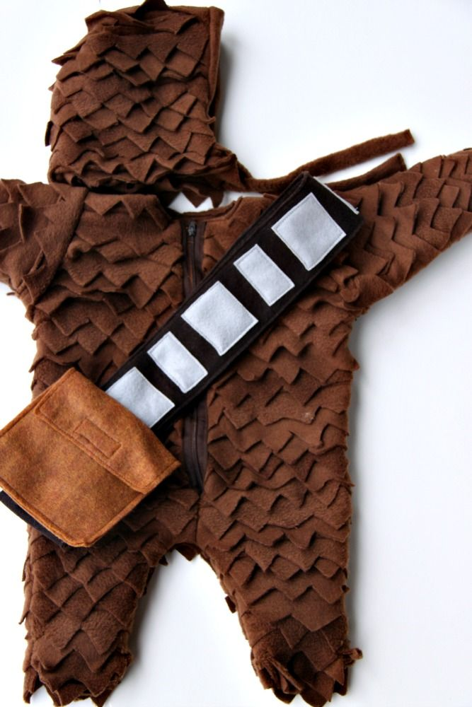 Just Another Day in Paradise: Baby Chewbacca Costume