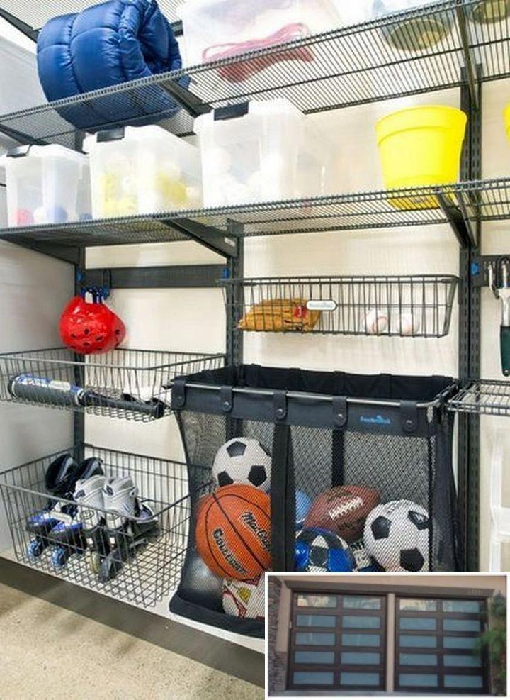Top Garage Storage Tips Rangement Garage Rangement Rangement Jouet