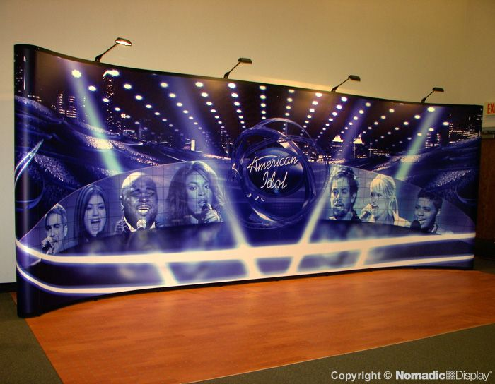 American Idol Auditions Backdrop