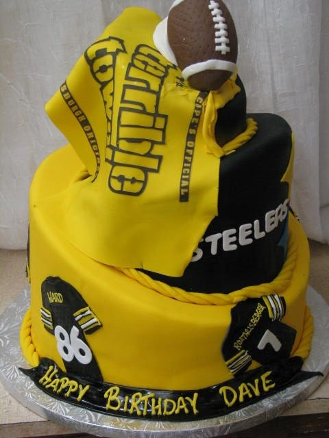105 Best Pittsburgh Steelers Birthday Cakes Images On