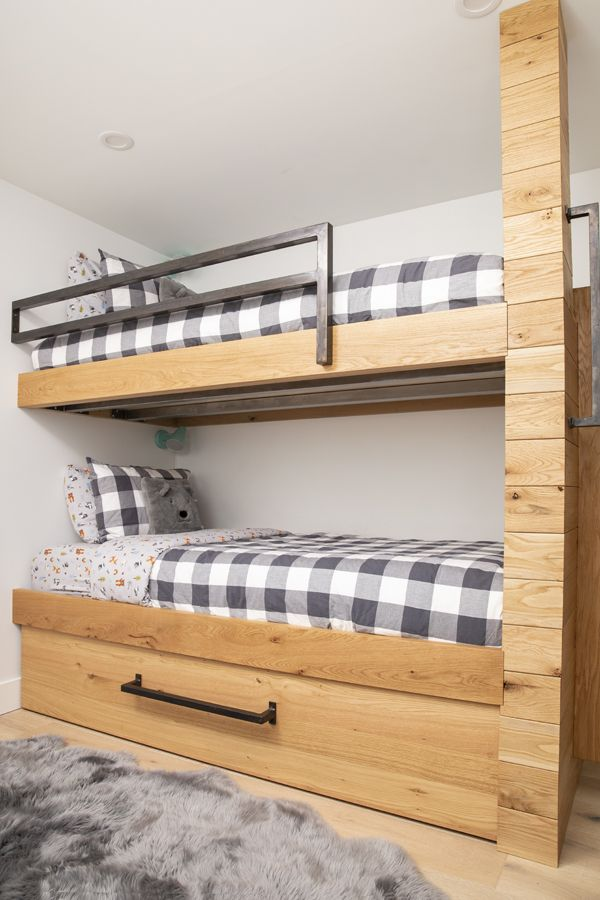 Custom Bunk Beds By Union Wood Co Whistler Cabin Look Custom