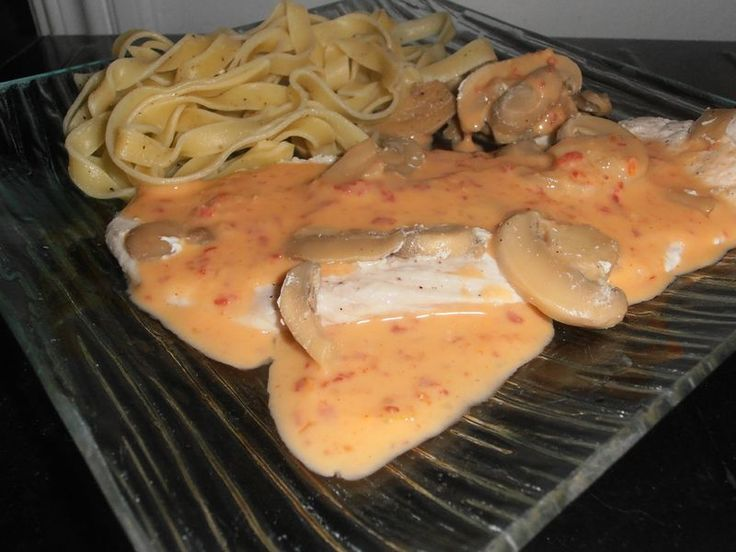 Escalope de dinde sauce chorizo et champignon ww au thermomix (ou non)