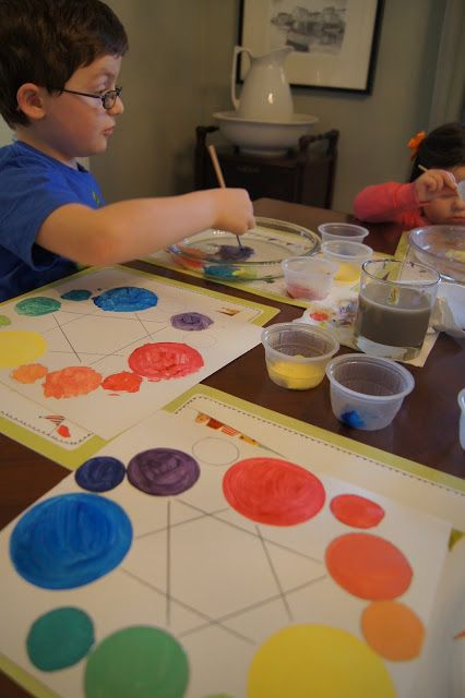 Making Montessori Ours: Art Education - Elements of Art - Colour Theory