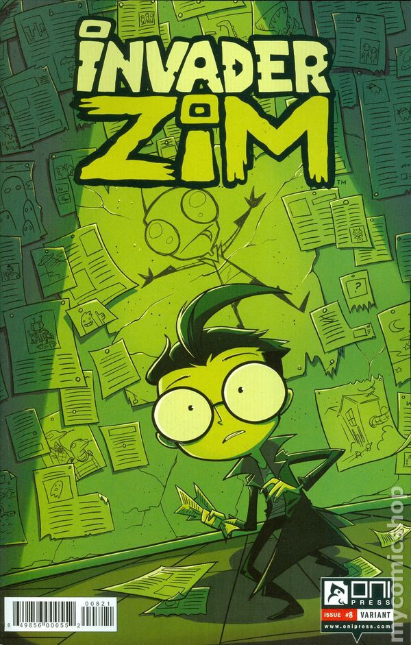 Invader Zim (2015 Oni Press) 8B
