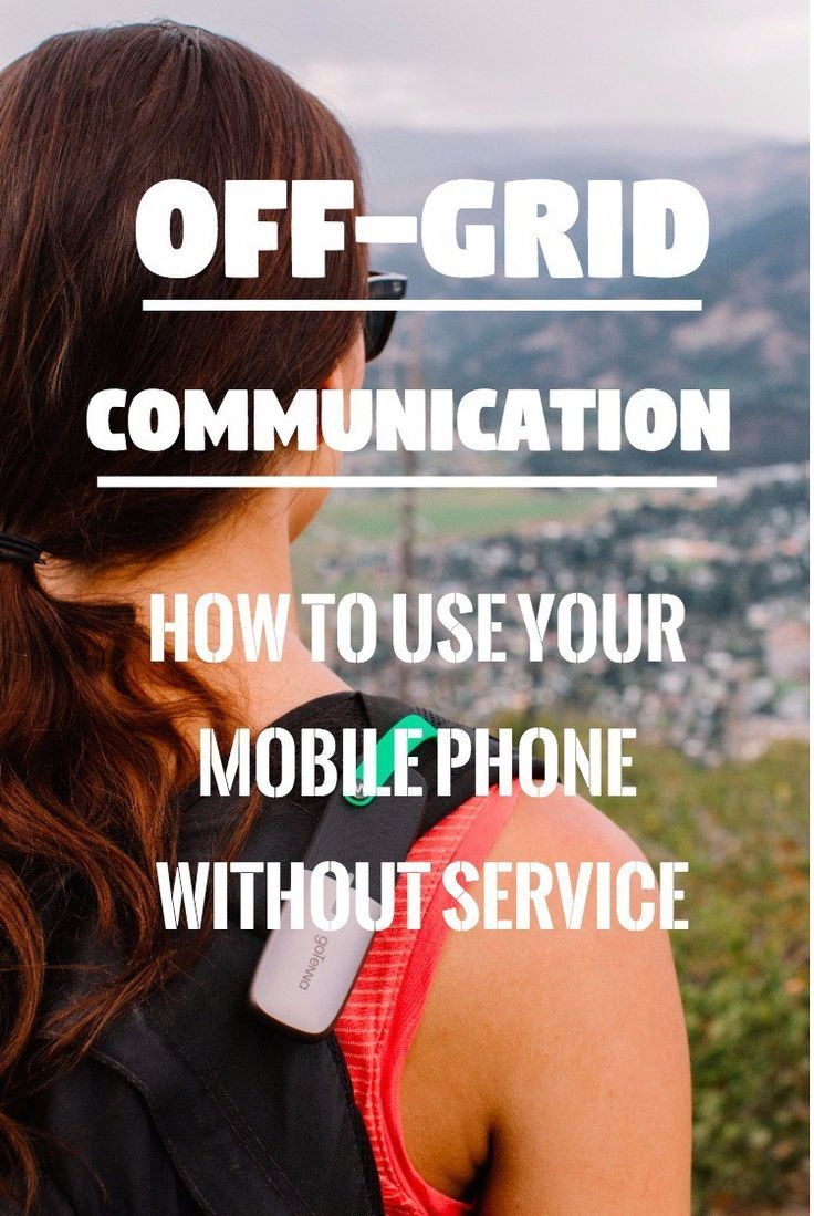 This offgrid communication device turns your mobile phone