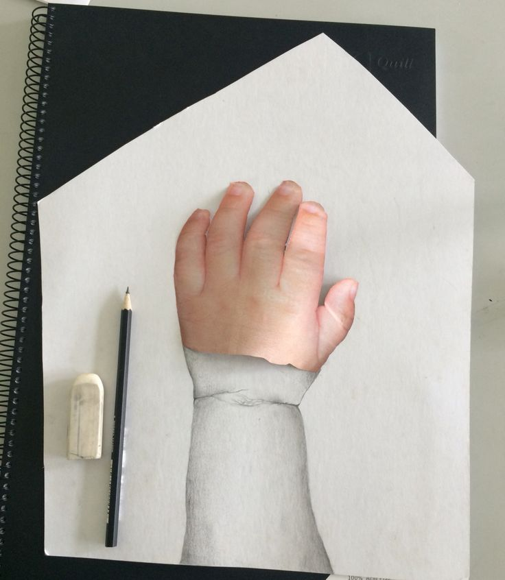 3D drawing - pencil
