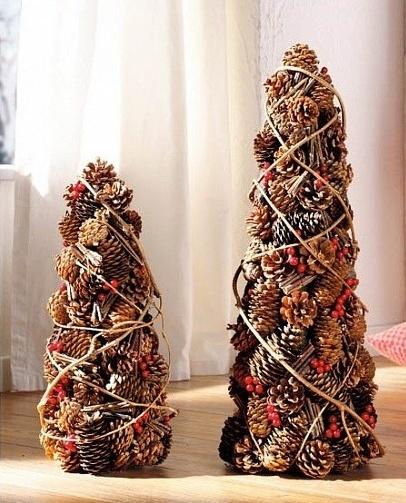 Pine Cones #Christmas Tree