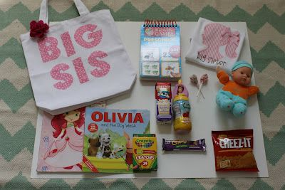 Big Sister Bags - love this idea wish i would have seen this earlier  :-(