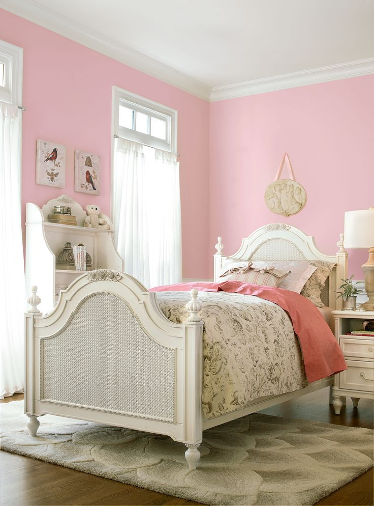 Gabriella Collection Twin Low Post Bed Nightstand And Bookcase Has Option Of Tall
