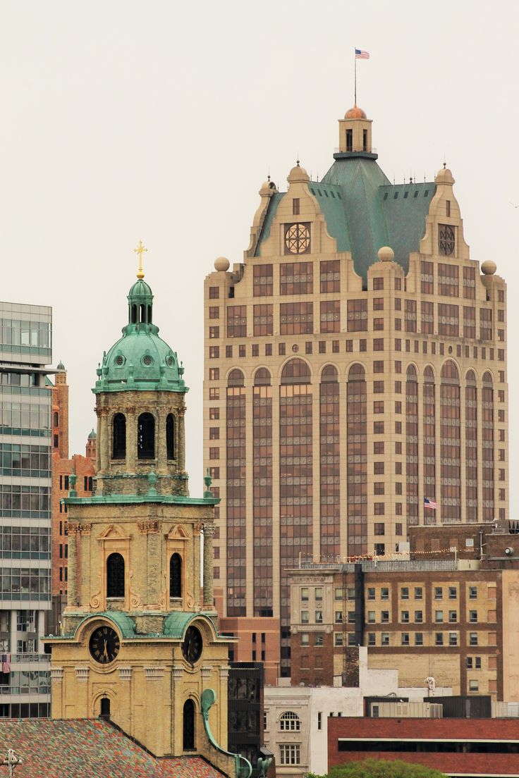 Milwaukee is an interesting mixture of old and new architecture