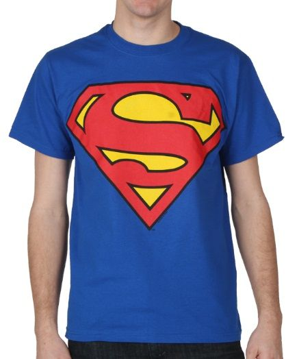 "Superman Shield T-Shirt: ""Add some super power to your life with this classic Superman tee!… #bandtshirts #bandtees #tshirts #customtshirts"