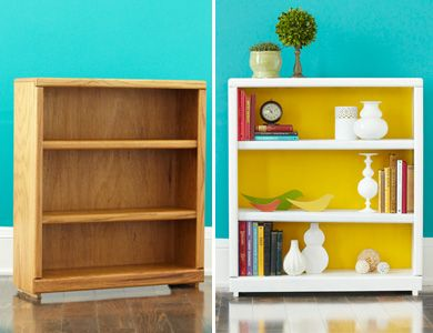 Simple makeovers to older furniture... so less expensive than always buying new... renew reuse recycle!
