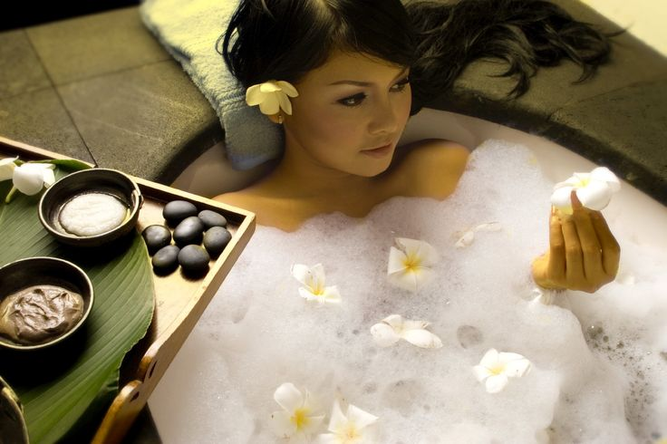 It's a great way to relax and enjoy a spa-like feeling with the comfort of candles, incense, fragrance oils, or scented potpourri within reach!