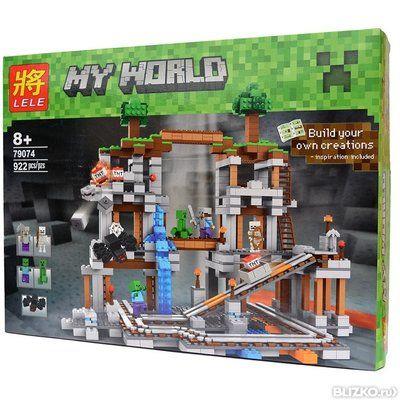 Аналог Lego Minecraft Шахта