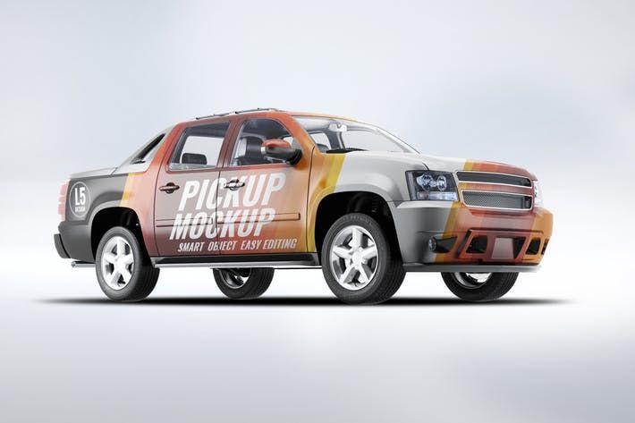 4x4 Pickup Truck Mockup Crosscountry 4x4 Download Here Http 1 Envato Market C 97450 298927 4662 U Https Elements Envato Com Pickup Trucks Trucks 4x4