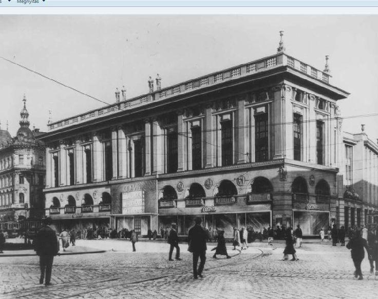 A Corvin áruház, Budapest [1930].