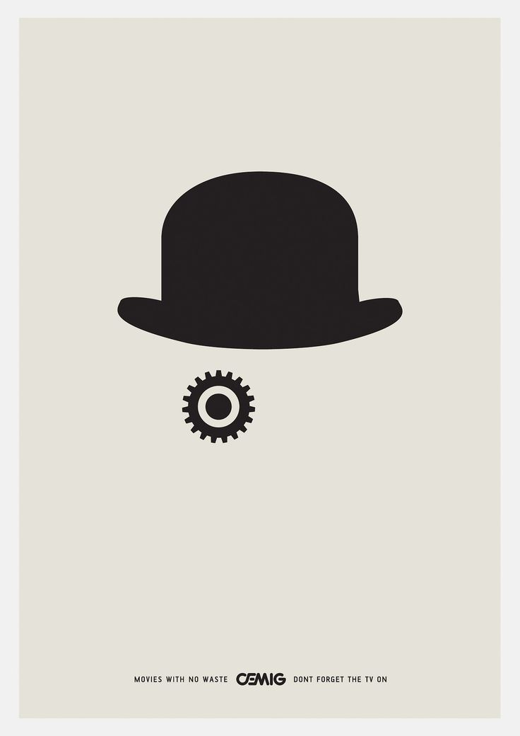 A Clockwork Orange. #minimal #design