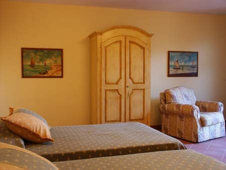 Holiday home in Lucca (Tuscany) Le Due Lanterne: the bedroom