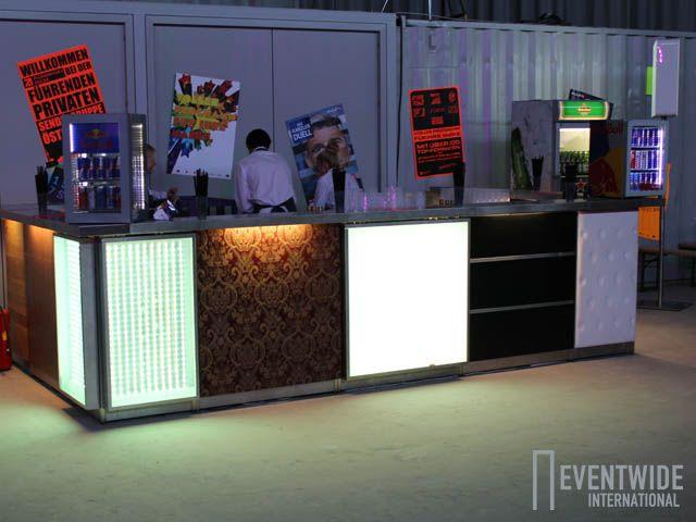 Wollt ihr den totalen Mix? Verschiedene Eventwide Barfronten miteinander Kombiniert - für mutige Kunden!!
