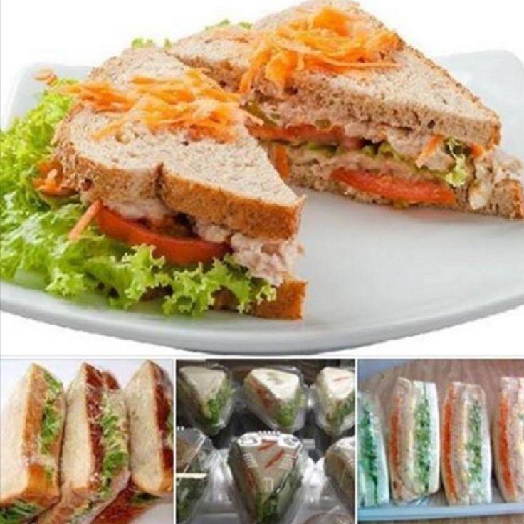 4 Receitas de Sanduíche Natural para Fazer e Vender