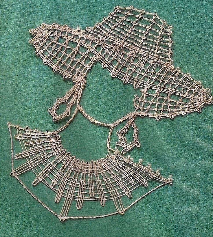 Handcraft Blog: Bobbin lace pattern for the beginners