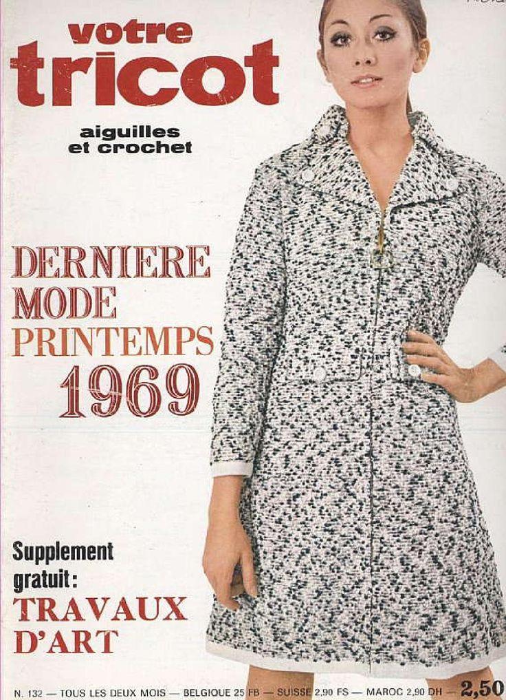 1969 printemps. tuto tricot