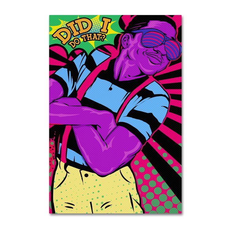 ALI Chris 'Steve Urkel' Canvas Art