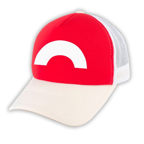NEW Pokemon Ash Ketchum Cosplay Trucker Foam Mesh by SpruceMount