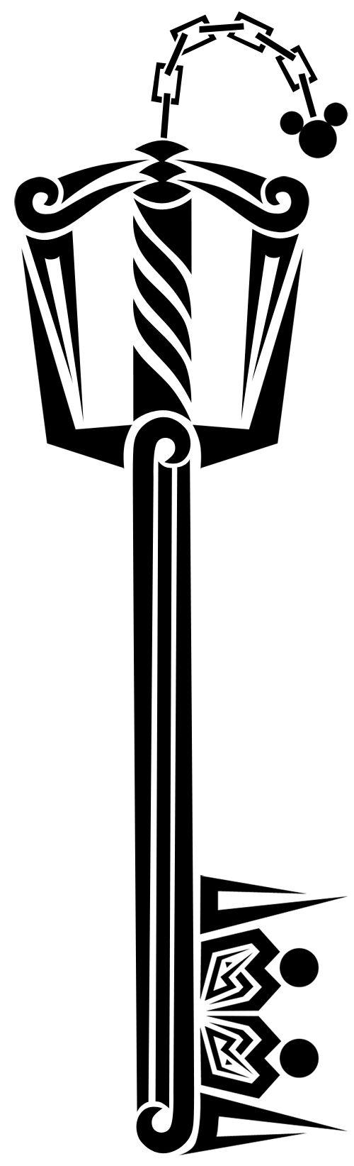 Kingdom Hearts tattoo design
