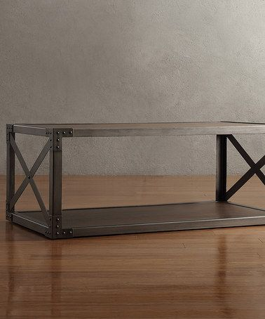 Another great find on #zulily! Brown Taylor Coffee Table #zulilyfinds