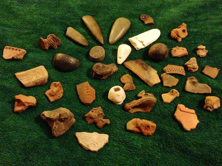 Pre Columbian Taino artifact collection | Taino ...
