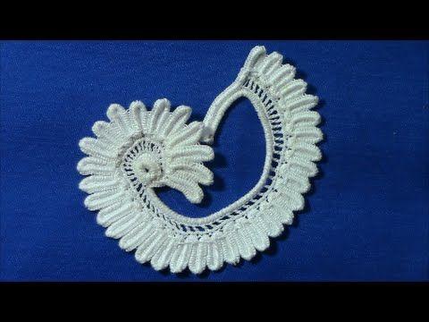 УРОК ВЯЗАНИЯ.Вязание цветка колокольчика. Ирландское кружево. Сrochet irish crochet. - YouTube