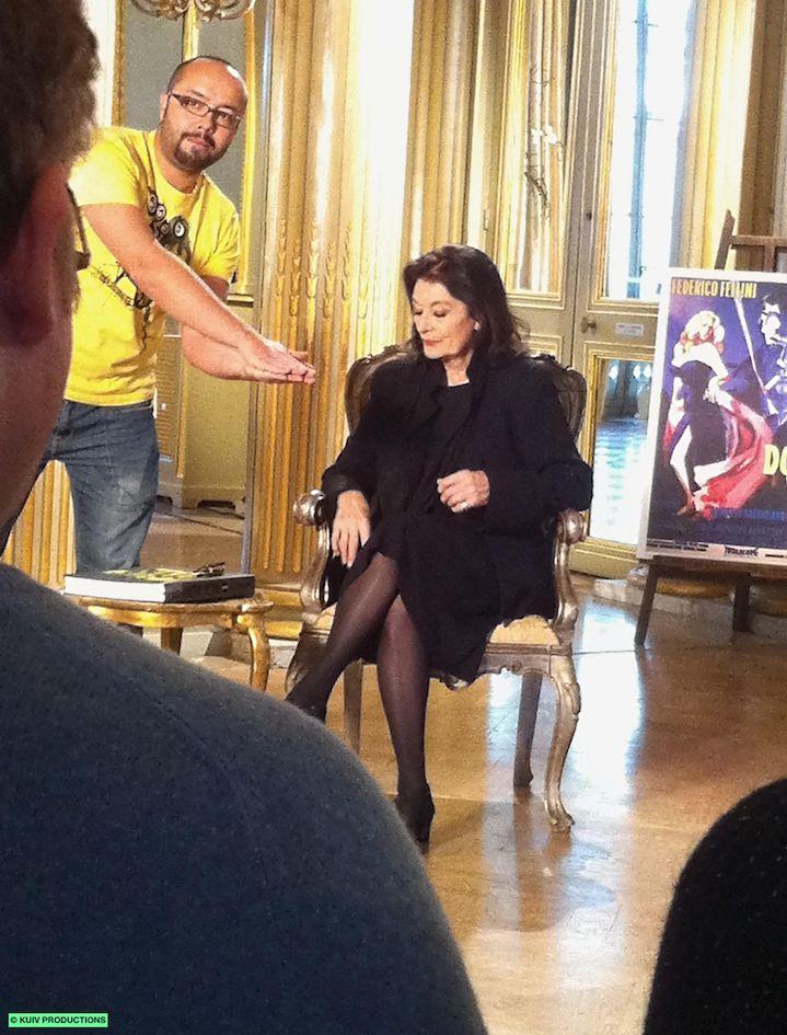Anouk Aimée, la beauté du geste. Dec. 25th 2014. 23h25 (22:25 GMT). France 5