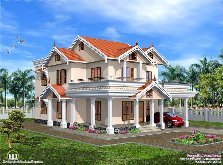 Cute Kerala Home Design In 2750 Sq
