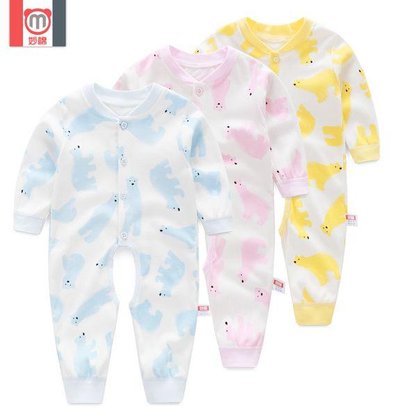Ползунки, комбинезоны из Китая :: Замечательные новорожденного длинный рукав хлопок длинные onesies младенца платье baby Ромпер белье весной и осенью 1050.