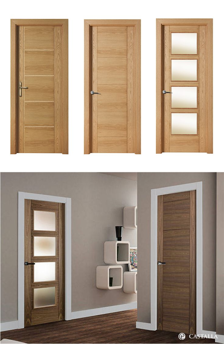 15 best modern interior doors images on pinterest modern for Modelos de puertas
