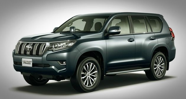 2019 Toyota Land Cruiser Prado Rumors