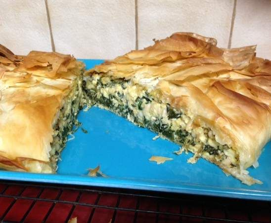 Recipe Jamie Oliver's Spinach and Feta Filo Pie by MrsJay - Recipe of category Main dishes - vegetarian