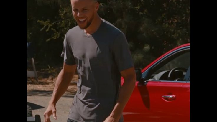 "It's not exactly Michael Jordan versus Larry Bird for McDonald's circa 1993, but as we can see from this outtake in filming for his commercial for the Infiniti Q50, NBA star Stephen Curry might as well say ""nothing but interior."" The Golden State Warriors shooting guard signed on with Infiniti as a…"