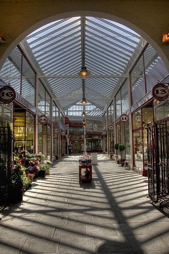 The Arcade in Letchworth Garden City