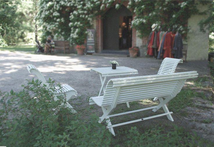 Trädgårdsstol 1800-tal - Klassiska utomhusmöbler - Sekelskifte