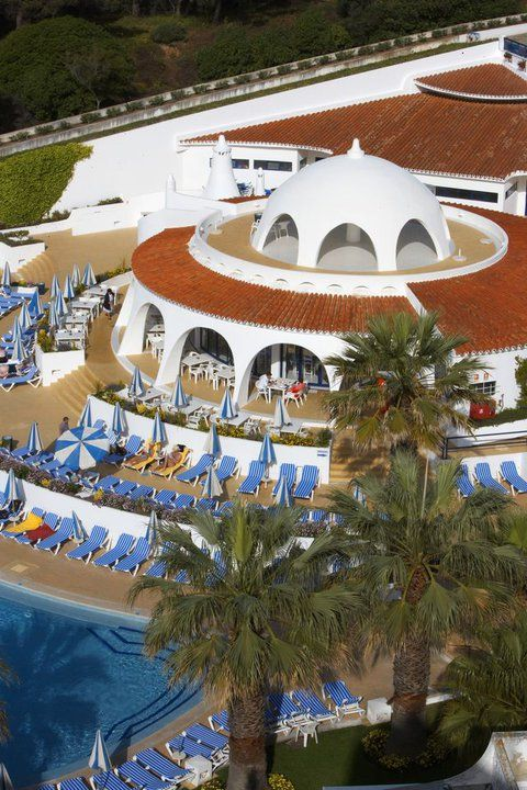 Oura View Beach Club #aqua #restaurant #stardome #rooftop #view #portugal