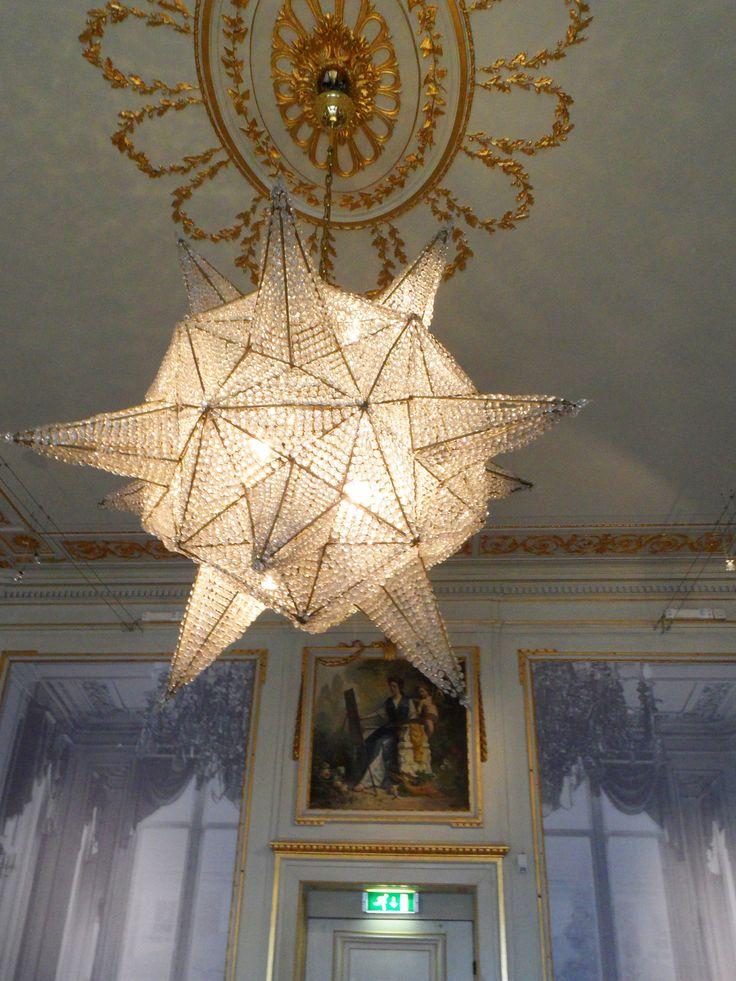 Lamp in Escher museum, Den Haag