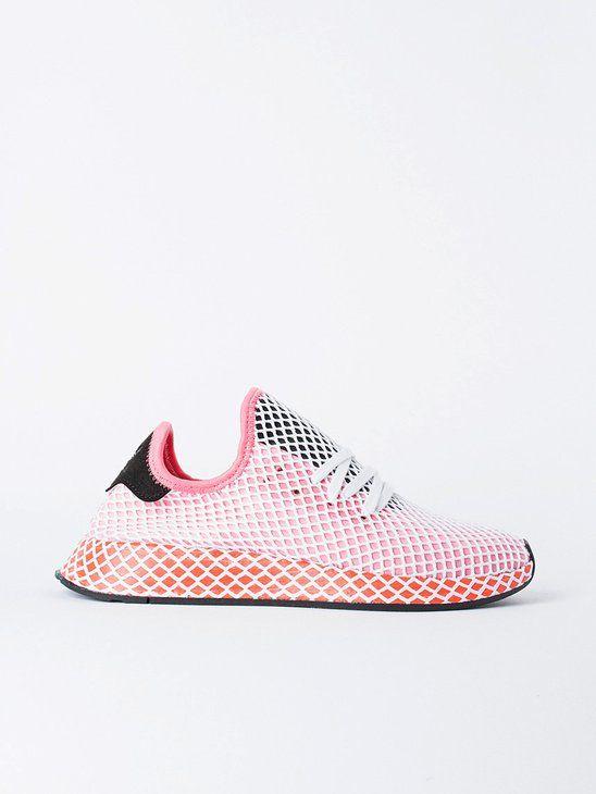 0060af151 APLACE Deerupt Runner W Chalk Pink - Adidas Originals   Women's ...